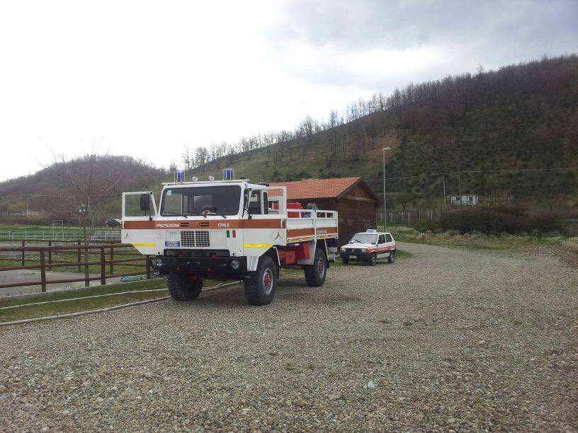 Camion in area foro Boario